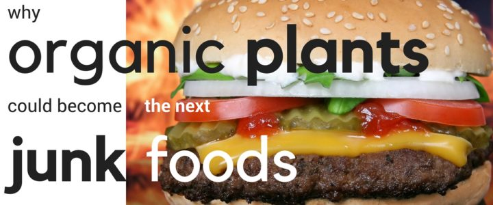Why organic plants could be the new junk food